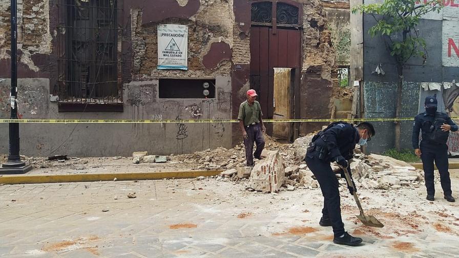 <p>Мощно земетресение разтърси Мексико, има жертва</p>