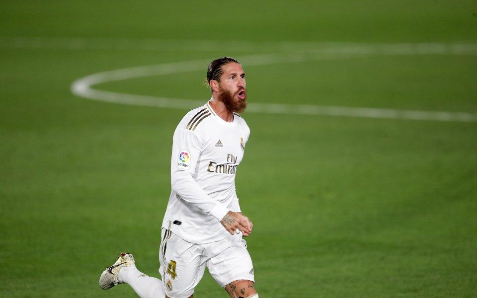 Серхио Рамос с жест към Реал Мадрид