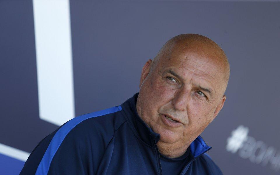 Треньорът на Левски Георги Тодоров заяви на днешната пресконференция, че