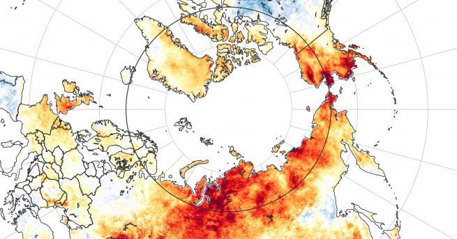 Свят Учените бият тревога за това, което става в Сибир