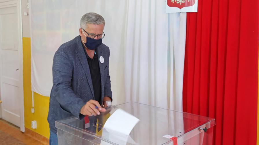 <p>Балотаж на президентските избори в Полша</p>