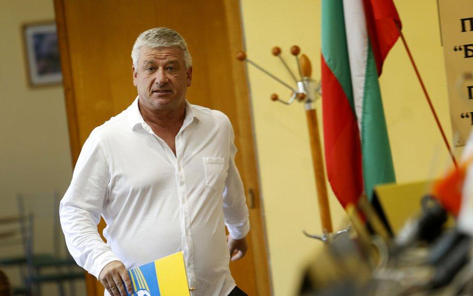 Президентът на Марица - Христо Христов, потвърди кандидатурата си за