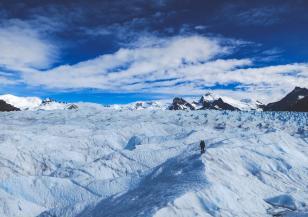 Южният полюс се е затоплил с около два градуса