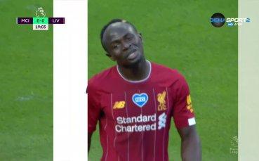 Манчестър Сити - Ливърпул 3:0 /първо полувреме/