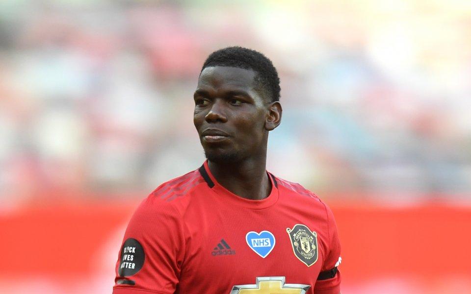 Футболистът на Манчестър Юнайтед Пол Погба може и да подпише