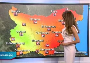 Прогноза за времето (03.07.2020 - централна емисия)