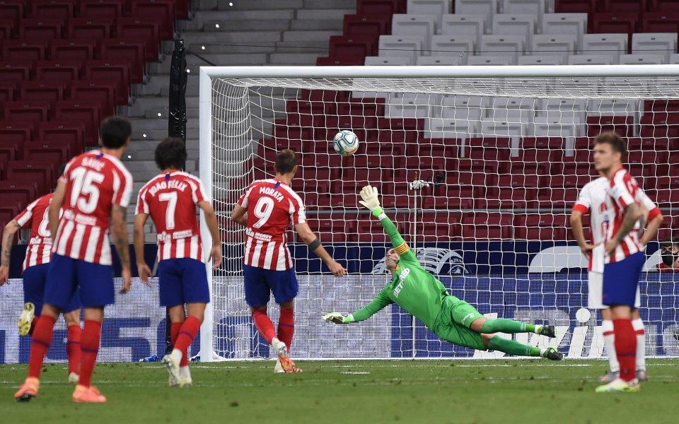 Отборът на Атлетико Мадрид записа класическа победа с 3:0 над