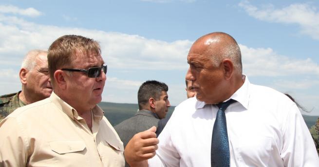 България Премиерът Бойко Борисов при силите за специални операции в
