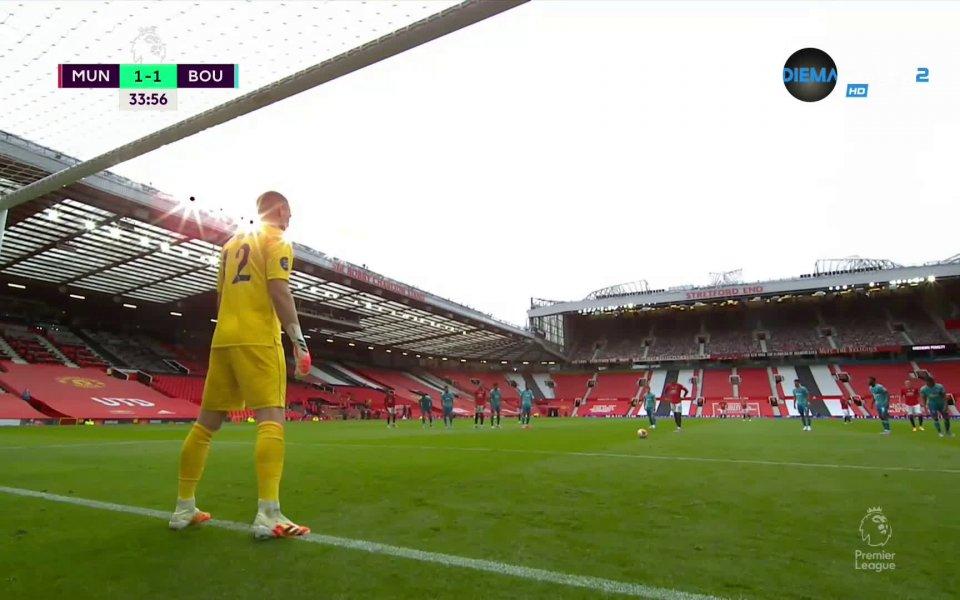 Най-интересните моменти от успеха на Манчестър Юнайтед над Борнемут с