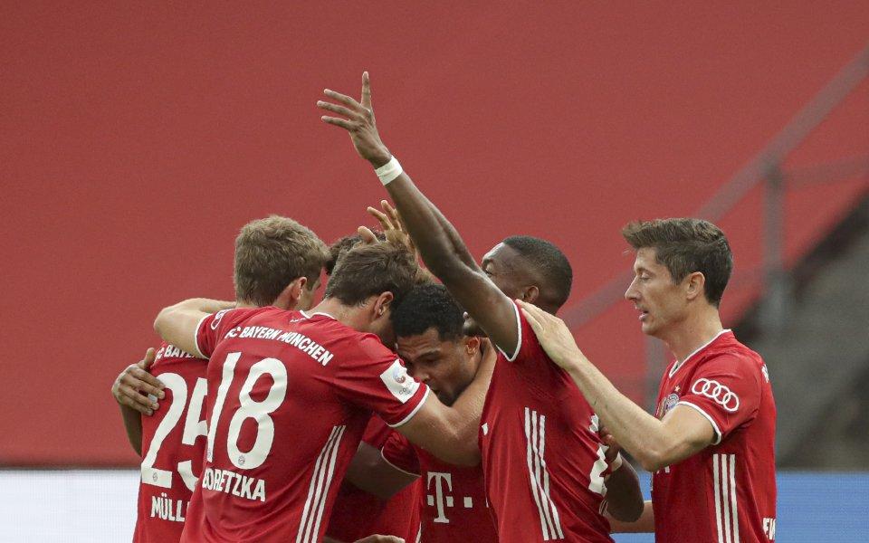 Байерн Мюнхен и Байер Леверкузен се оттеглиха на почивкатапри резултат