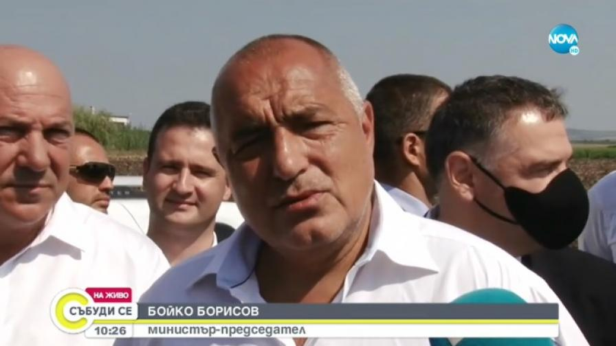 <p>Борисов:&nbsp;Няма да влизам в ченгеджийските номера на Радев&nbsp;</p>