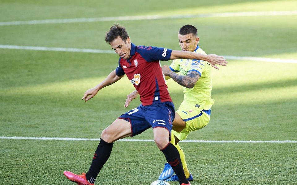 Отборите наОсасунаиХетафезавъртяха 0:0 в мач от 34-ия кръг на Ла
