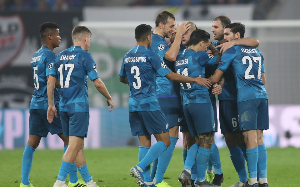 Отборът на Зенит Санкт Петербургпобеди Краснодар с 4:2 в мач