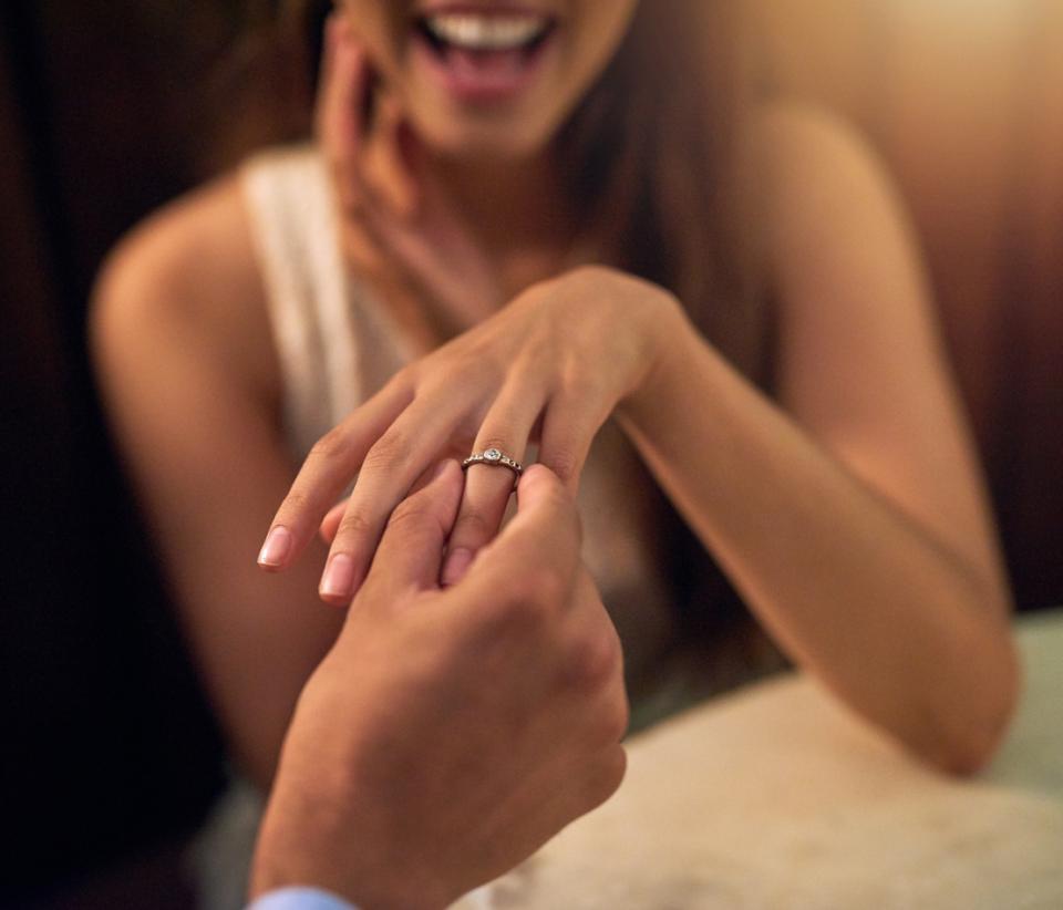 годеж любов предложение