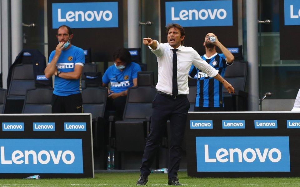 Наставникът на Интер Антонио Конте е бил толкова бесе след