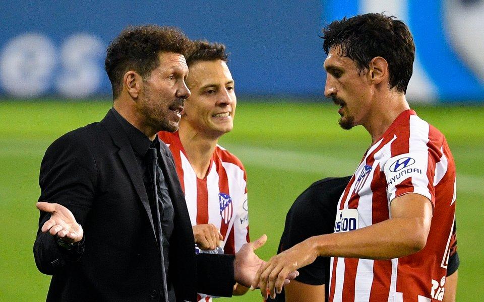 Отборите на Селта Виго и Атлетико Мадрид записаха равенство 1:1