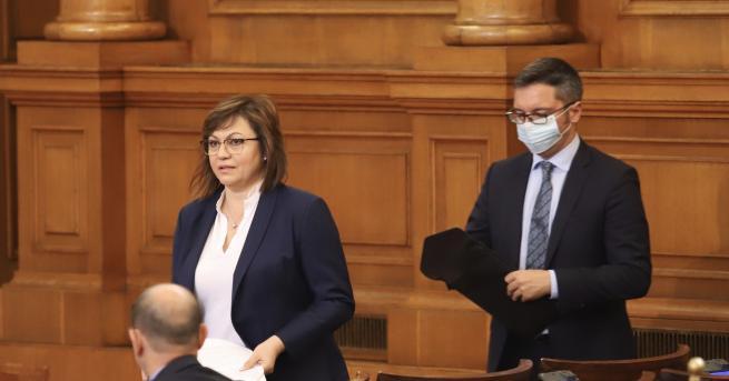България БСП внася вот на недоверие към правителството за корупция