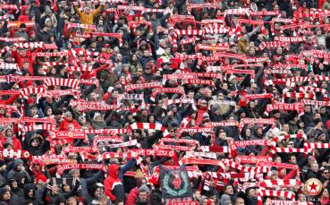 Стана ясна точната бройка на билети за феновете на ЦСКА в мача срещу Локо