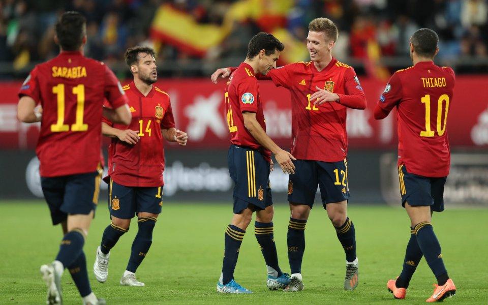 Отложената заради COVID-19 контрола между националните отбори на Испания и