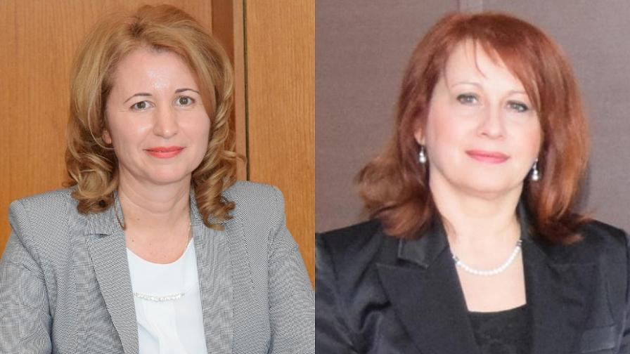 Проф. Стоянова и проф. Рачева