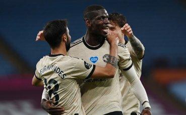 Юнайтед докосва ШЛ след разгром срещу Вила