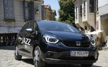 Новият Honda Jazz предлага удобство и комфорт