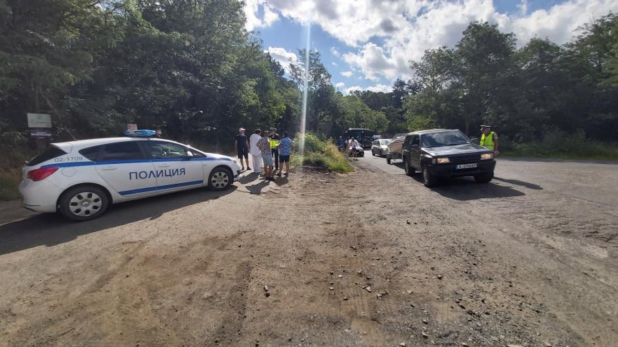 <p>Напрежение и сблъсъци с полицията в парк Росенец</p>