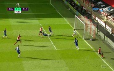 Втори гол на МакГолдрик изпрати Челси в нокдаун