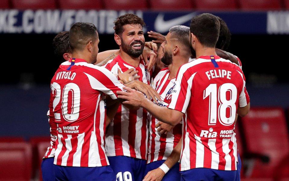 Записвайки се за четири сезона на стил, Атлетико Мадрид обяви