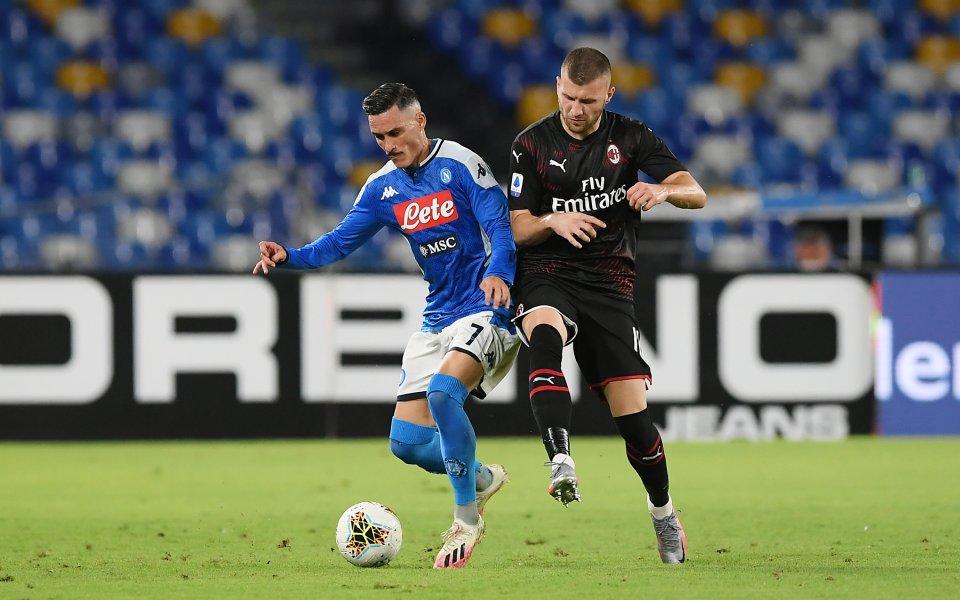 Наполи и Милан не се победиха и направиха зрелищно равенство