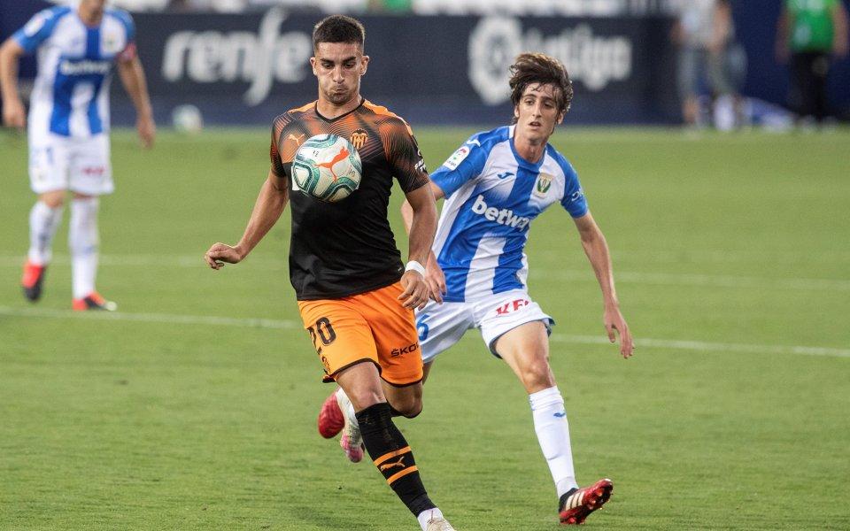 Леганес се наложи с 1:0 над Валенсия и показа, че