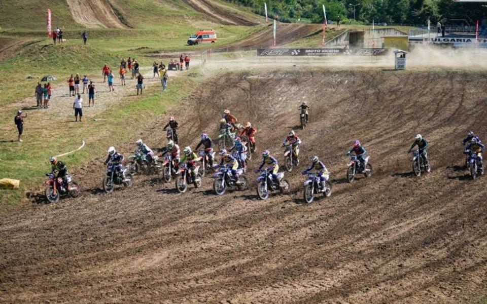 Изключително интересни състезания на Гран При България по мотокрос в Севлиево
