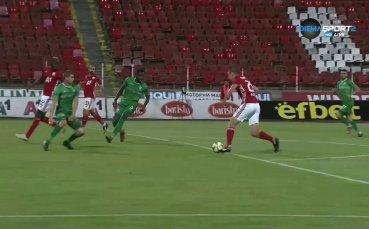 Красивото дебютно попадение на Валентин Антов за ЦСКА