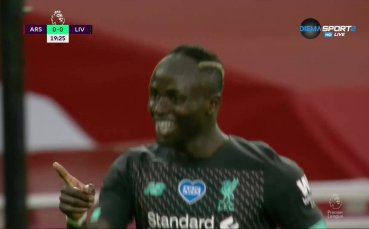 Садио Мане и Ливърпул удариха Арсенал