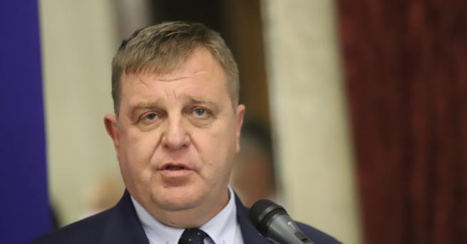 България Два варианта за политическата ситуация, според Каракачанов Диалогът трябва