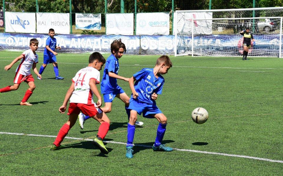 Завърши детски турнир в Бургас