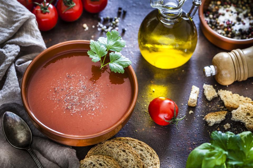 гаспачо храна супа домати