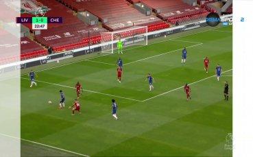 Наби Кейта откри резултата срещу Челси