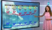 Прогноза за времето (24.07.2020 - обедна емисия)