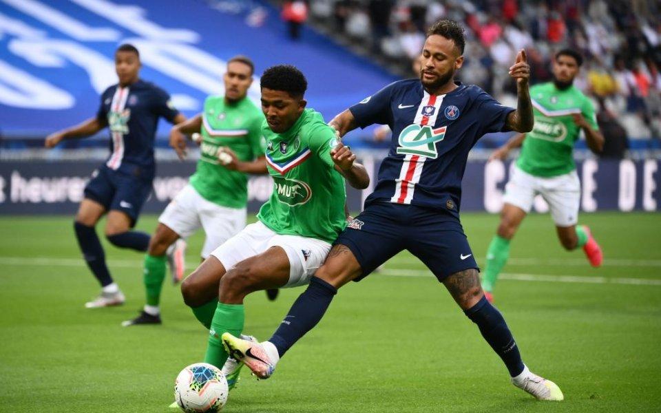 Футболът във Франция най-накрая се завърна със зрелищен финален сблъсък