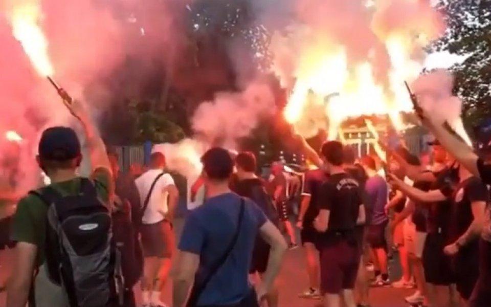 Страшни сцени! Феновете на Динамо Киев към Луческу: Върви си с мир!