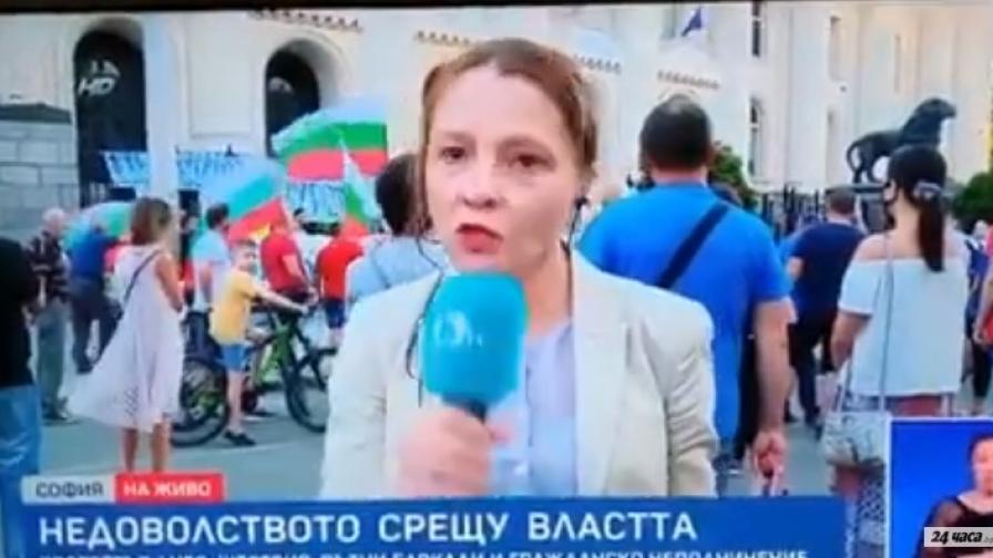 """Канна Рачева по бТВ на живо: """"За протестите в чужбина не знам, ще си измисля"""""""
