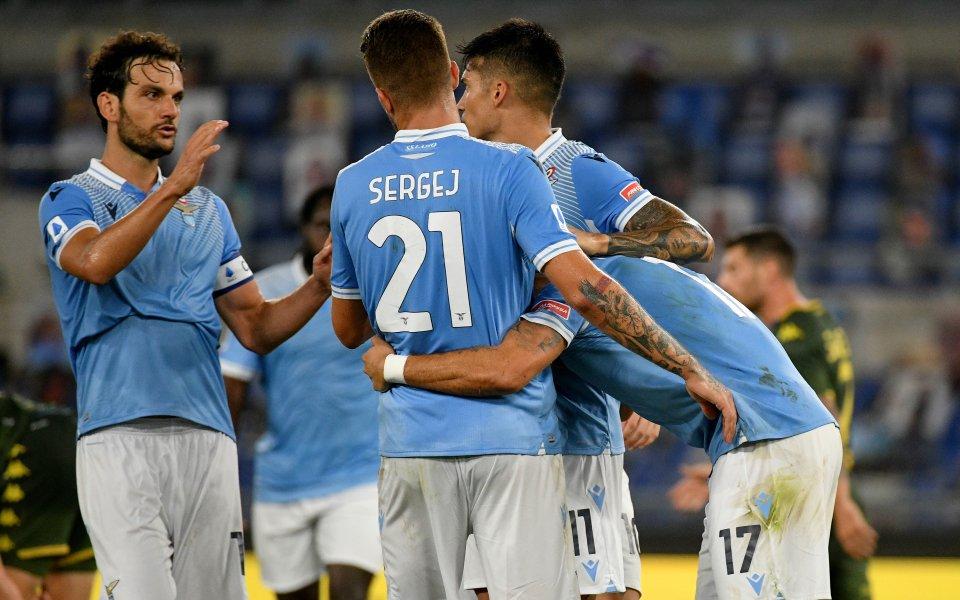 Лацио показа новите екипи, една от звездите липсва
