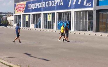 Степан Хиндлиян пристигна на срещата на Герена