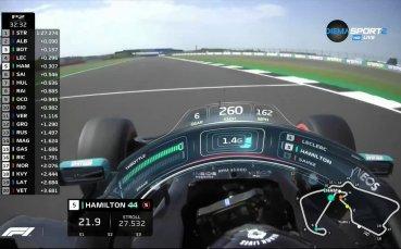 Втора свободна тренировка преди Гран При на Великобритания