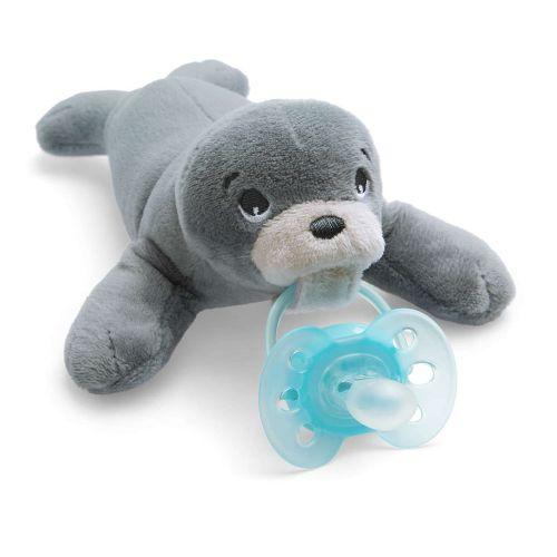 Комплект плюшена играчка за гушкане тюленче