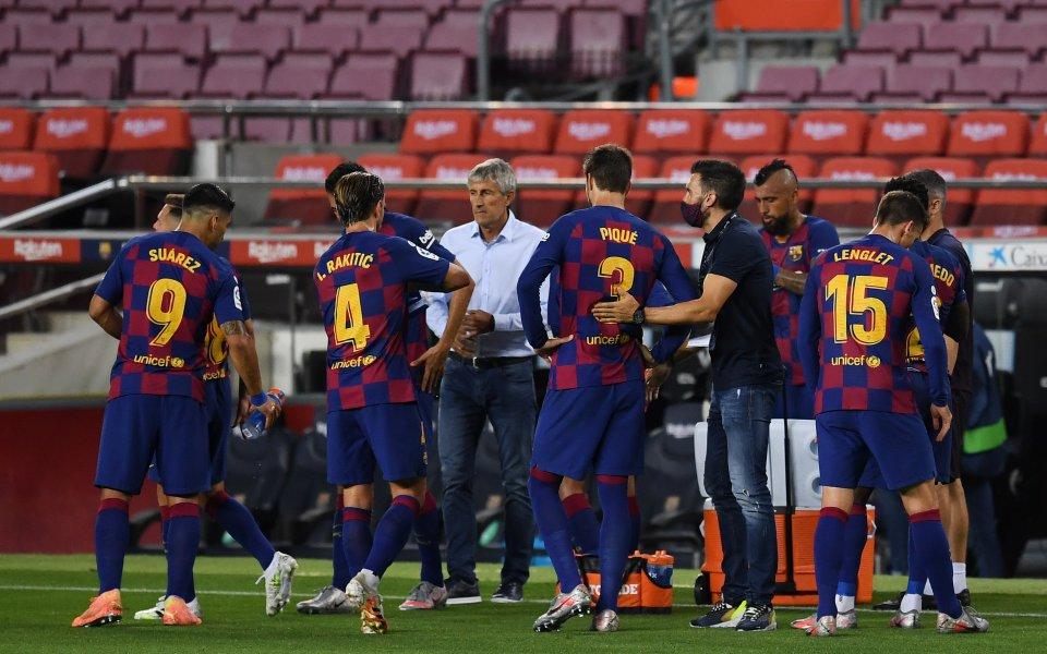 Наставникът на Барселона Кике Сетиен обмисля да заложи на схема