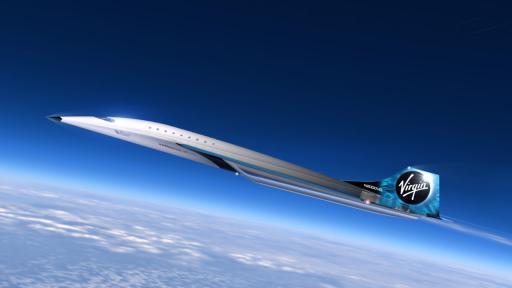 Самолетът Mach 3 на Virgin Galactic