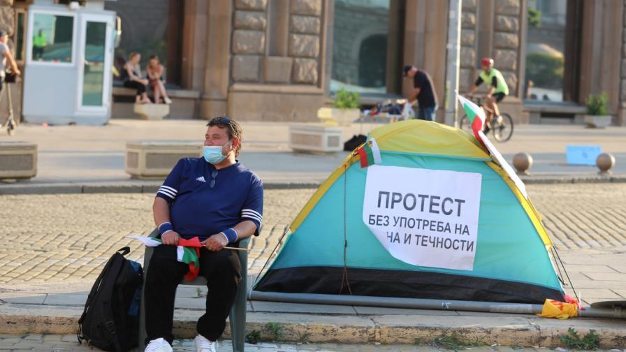 <p>Гладуващият протестиращ отказа да остане в болница</p>