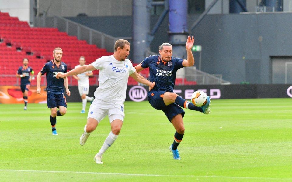 Отборите на Копенхаген и Истанбул Башакшехир играят при резултат 3:0